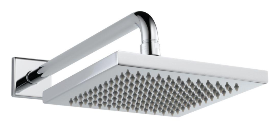 Let it rain with this luxurious shower head. (Photo: Home Depot)