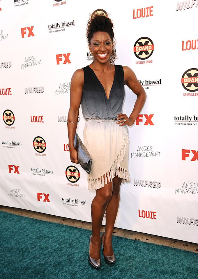 Raquel Horsford attends the FX Summer Comedies Party at Lure on June 26, 2012 in Hollywood, California.