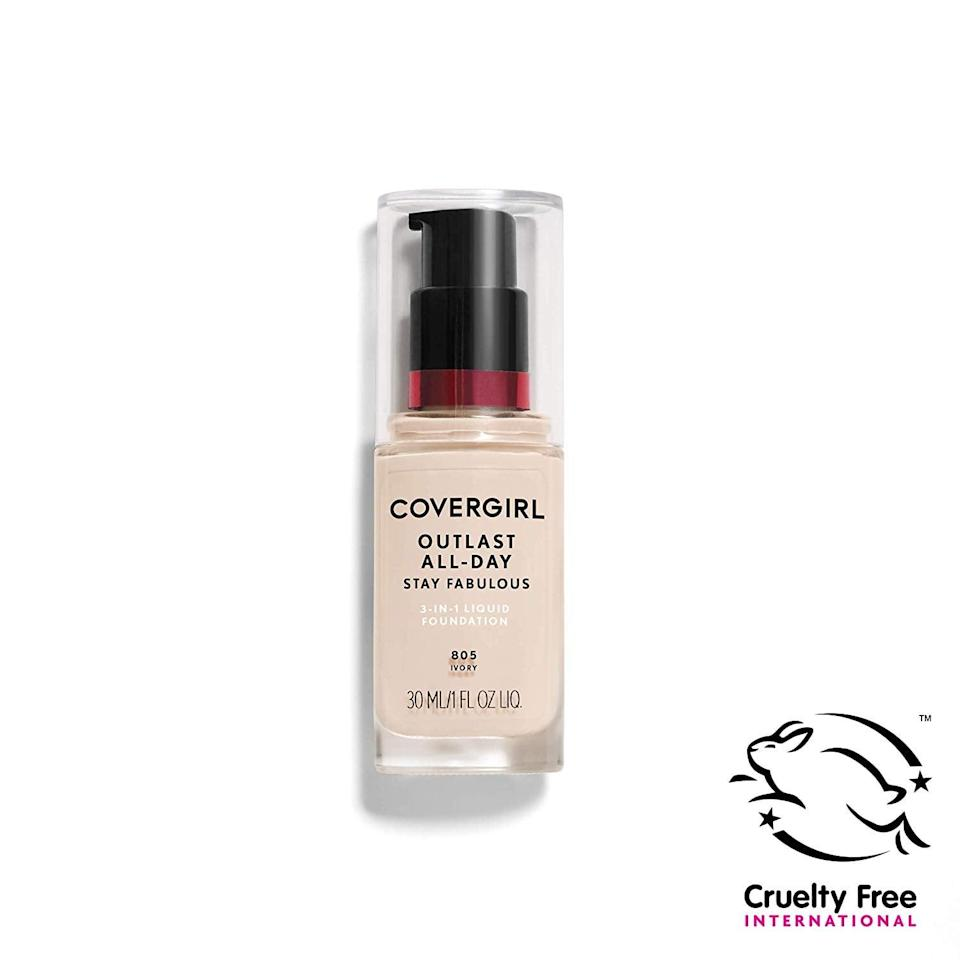 <p>You'll never splurge on department store foundations again if you give the <span>CoverGirl Outlast All-Day Foundation</span> ($9) a chance. With this gem, you won't need additional primer or concealer.</p>