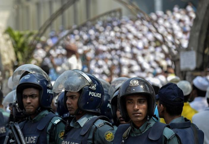 A troubling rise in violence in Bangladesh has now seen seven murders since the start of last month alone (AFP Photo/Munir Uz Zaman)