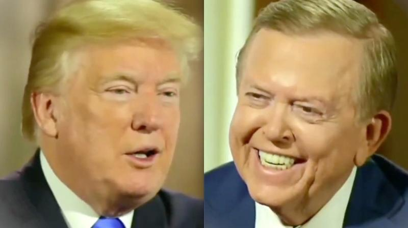 Lou Dobbs' Interview With Donald Trump Is Much Better With Porn Music