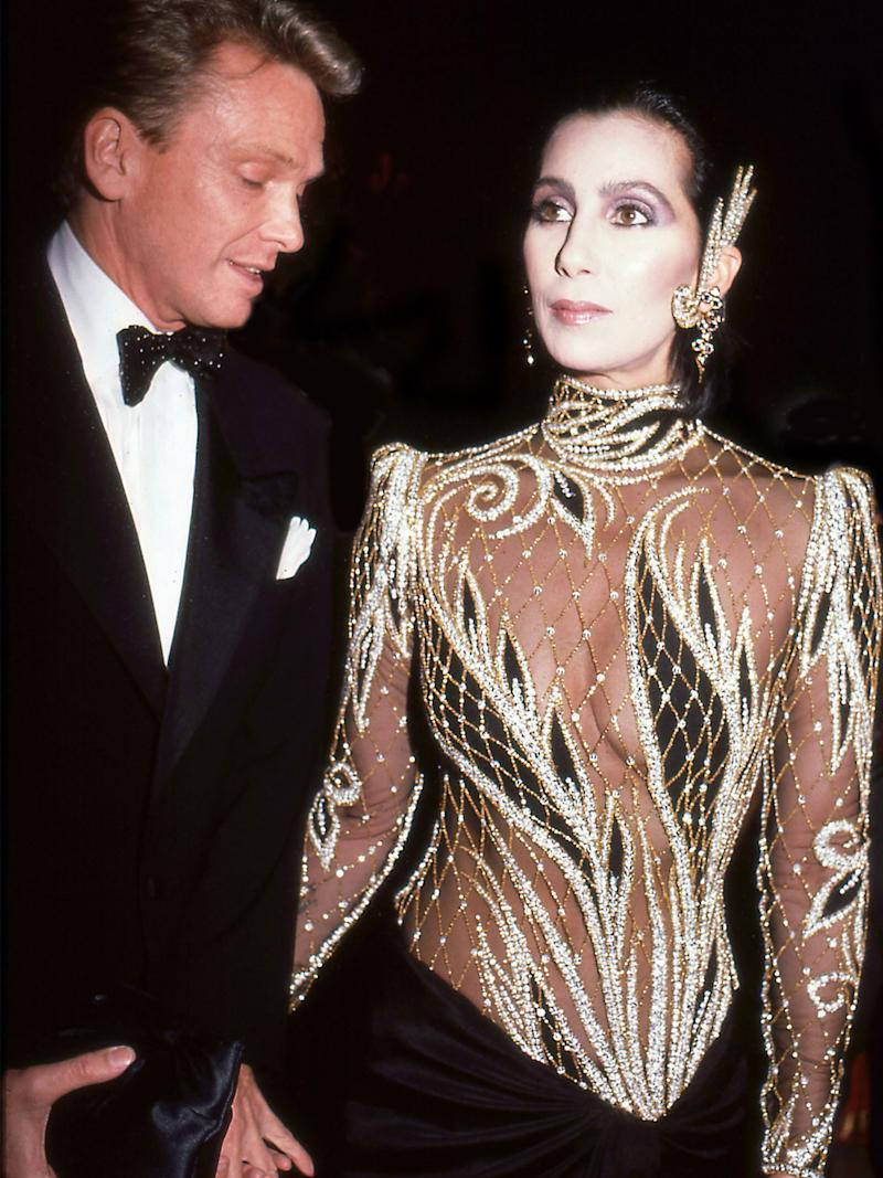 """Cher, 1985, """"Costumes of Royal India"""""""