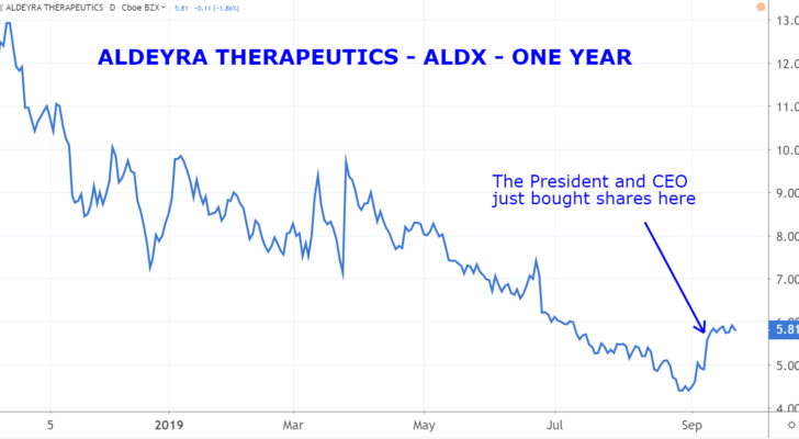 Insider Buying Stocks: Aldeyra Therapeutics (ALDX)
