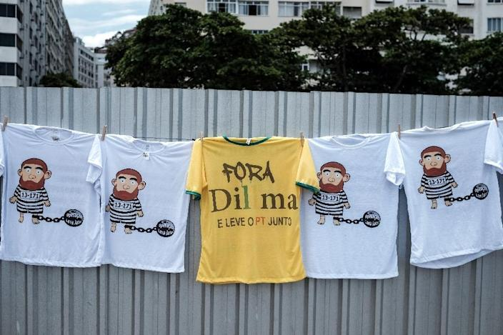 Many Brazilian citizens have been calling for Dilma's impeachment for months and the Supreme Court will rule on whether impeachment proceedings can go forward (AFP Photo/Yasuyoshi Chiba)