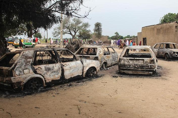 More than 27,000 people have been killed since 2009 and some 1.8 million are still homeless (AFP Photo/AUDU MARTE)