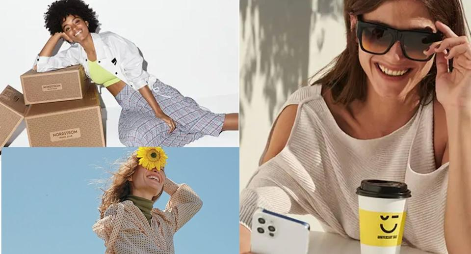 Nordstrom's Anniversary Sale is officially open to the public. (Images via Nordstrom)