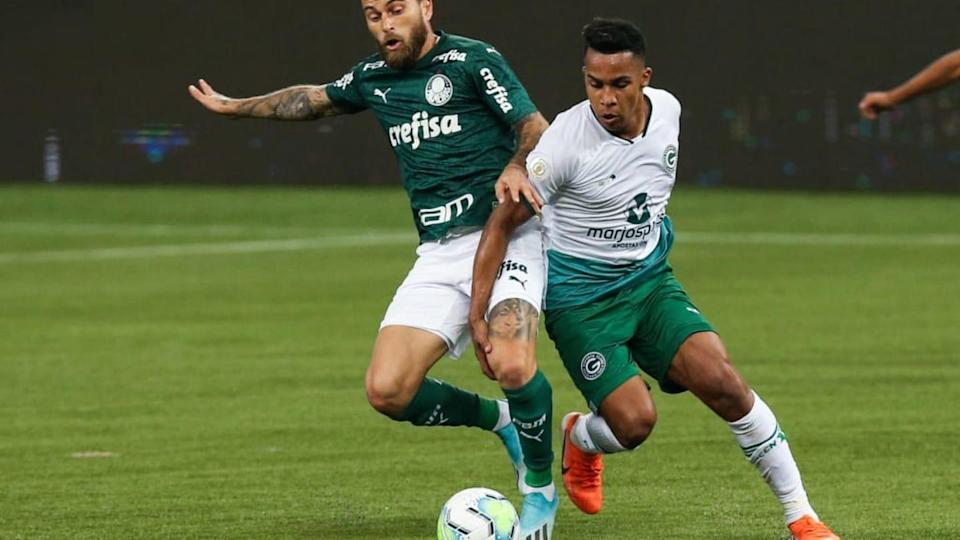 Palmeiras v Goias Play Behind Closed Doors the First Round of the 2020 Brasileirao Series A Amidst | Alexandre Schneider/Getty Images