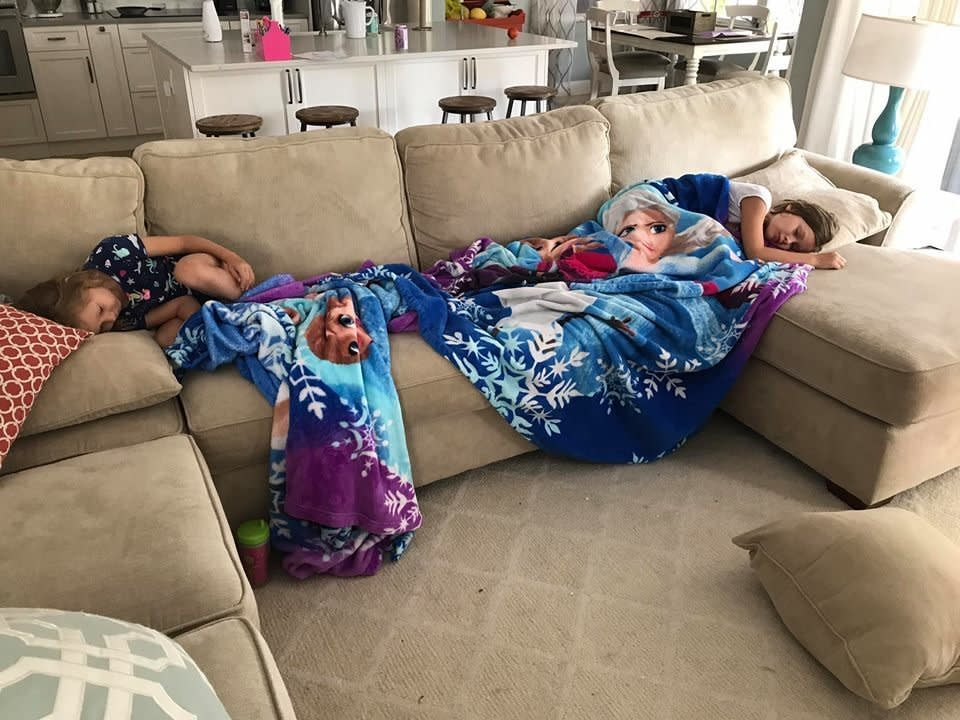 It was the first day of summer vacation, and the Florida mom had made big plans for her two daughters ― a scheduled beach day filled with enriching activities.