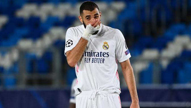 Striker Real Madrid, Karim Benzema. (AFP/Gabriel Bouys)