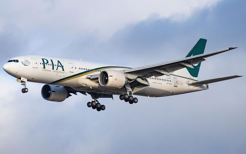 pia flight - getty