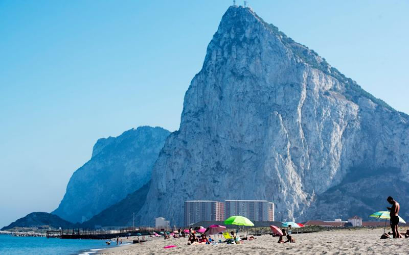 The Rock of Gibraltar from The Spanish side - Paul Grover