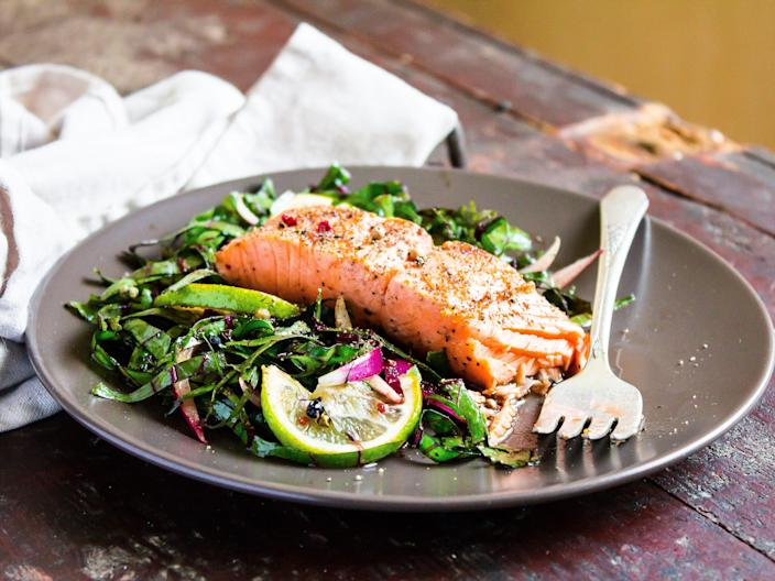 """The Mediterranean diet has drawn lots of praise for its health benefits. <p class=""""copyright"""">Anna Kurzaeva/Getty Images</p>"""