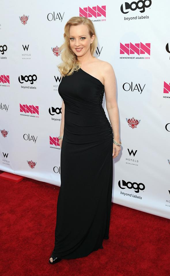 Wendi Mclendon-Covey arrives at LOGO's NewNowNext Awards at Avalon on April 5, 2012 in Hollywood, California.