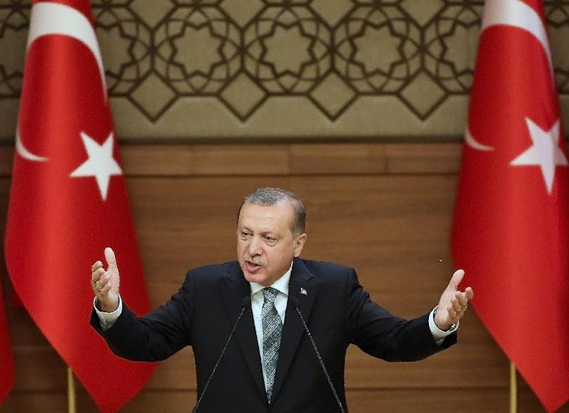Turkish President Recep Tayyip Erdogan said last month that the EU visa exemption must be introduced by October at the latest (AFP Photo/Adem Altan)
