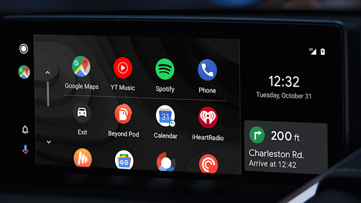 Some carmakers have teamed up with Google to use its Android CarPlay system