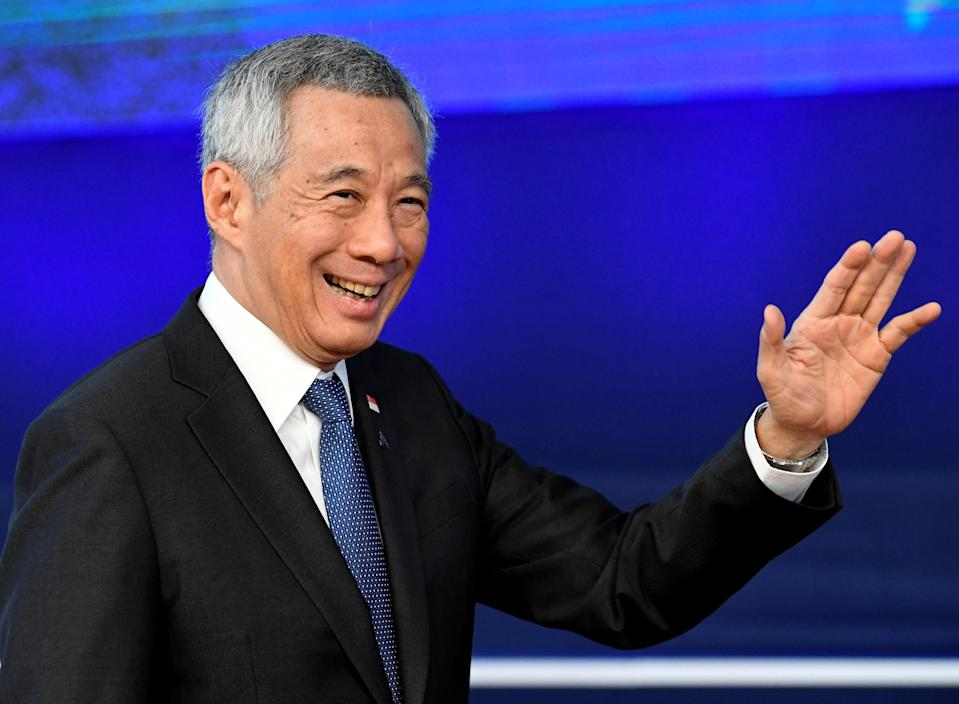 Singapore Prime Minister Lee Hsien Loong in October 2018. (File photo: Reuters/Piroschka van de Wouw)