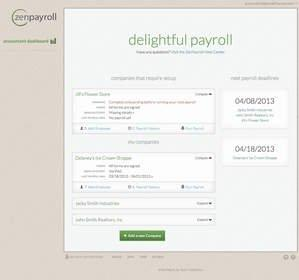 ZenPayroll Launches Modern Payroll Service for Accountants and Bookkeepers