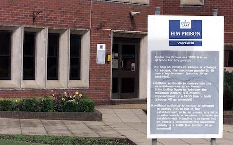 HMP Wayland - Credit: Andrew Parsons/PA