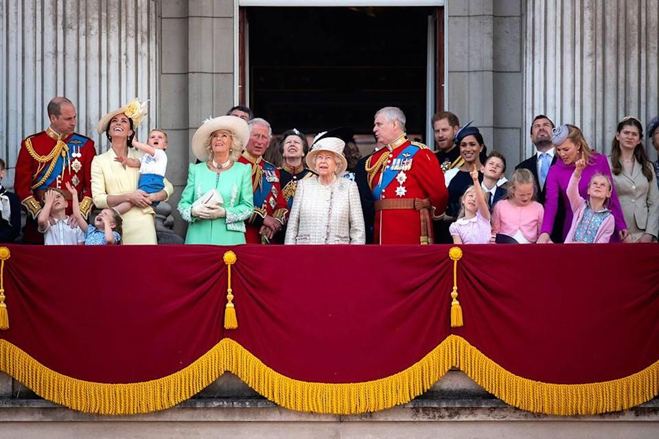 Trooping the Colour 2019, Prince Louis, Prince George, Princess Charlotte, Prince William, Kate Middleton, Queen Elizabeth, Meghan