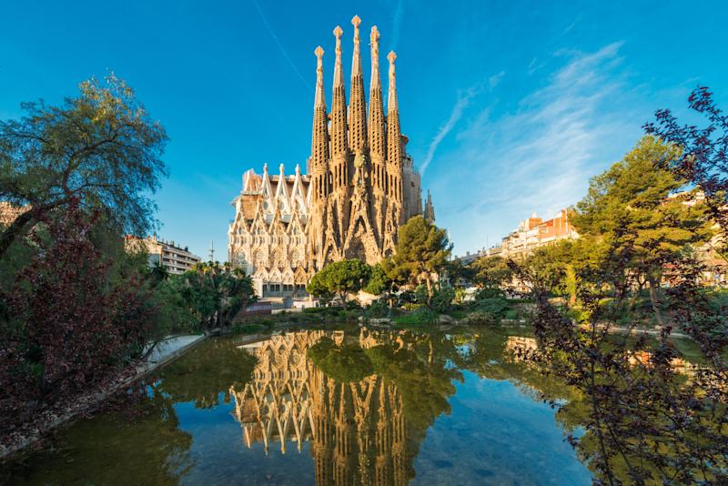 "This whimsical cathedral is renowned as Antoni Gaudí's <a href=""http://www.sagradafamilia.org/en/antoni-gaudi/"" target=""_blank"">principal architectural masterpiece</a>. The design is so intricate that the cathedral was not finished in Gaudí's lifetime; it has been under construction since 1882 and is scheduled to be finished in 2026, marking the centennial of Gaudí's death. Don't miss the incredible stained glass interior."