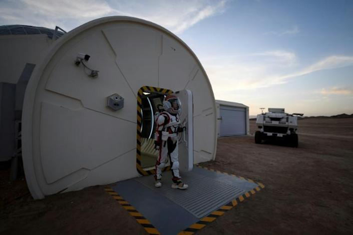 Radiation will also be challenging on the planet, because of its ultra thin atmosphere and lack of a protective magnetosphere, so shelters will need to be well shielded, or even underground