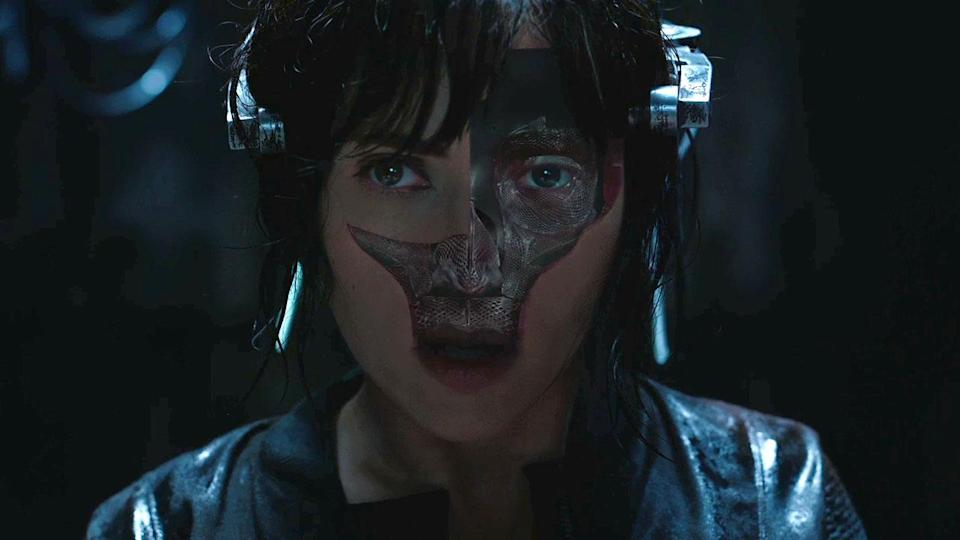 Scarlett Johansson is the Major in 'Ghost In The Shell' (Credit: Paramount)