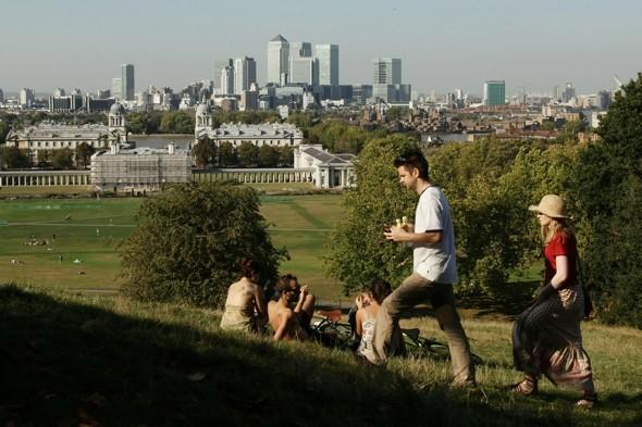 Greenwich named as top UK tourist destination for 2012