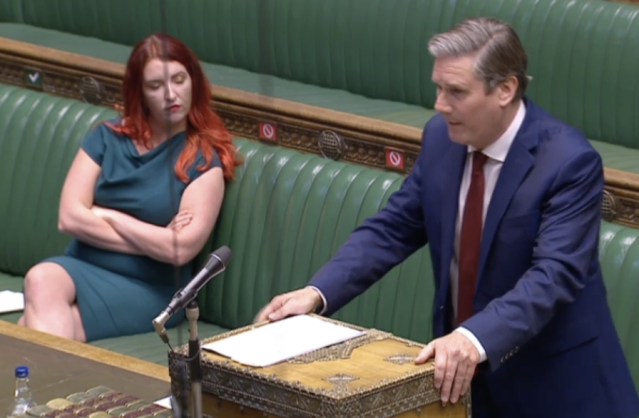 Sir Keir Starmer said Boris Johnson gives 'dodgy answers' during PMQs on Wednesday. (Parliamentlive.tv)
