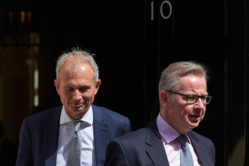David Lidington, Mrs May's de factor deputy, and Michael Gove denied reports of a