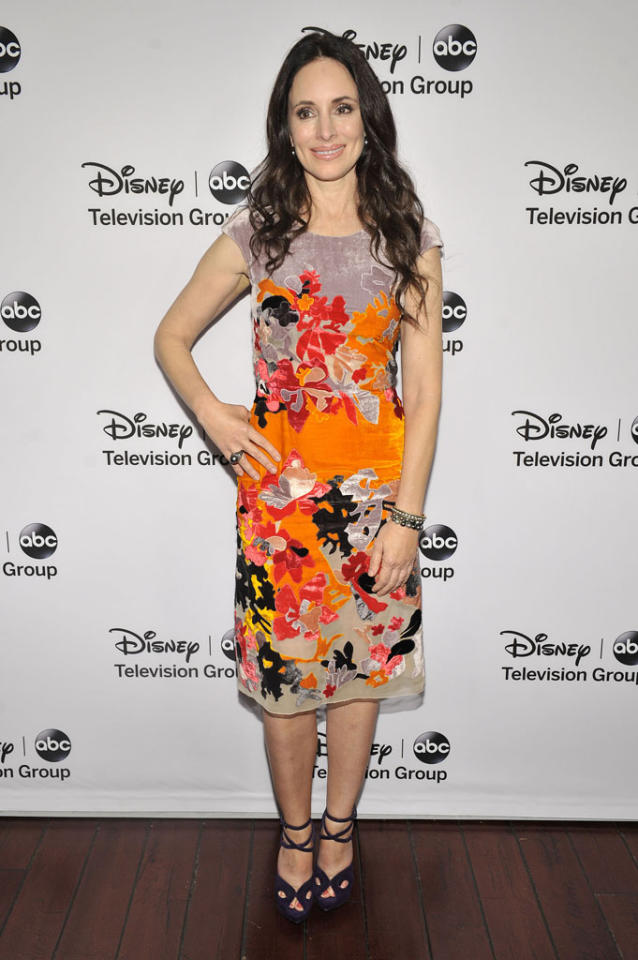 "Madeleine Stowem (""Revenge"") attends the Disney ABC Television Group 2013 TCA Winter Press Tour at The Langham Huntington Hotel and Spa on January 10, 2013 in Pasadena, California."
