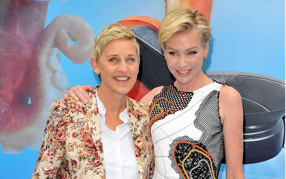 Ellen DeGeneres and Portia de Rossi own property in Santa Barbara - Rex