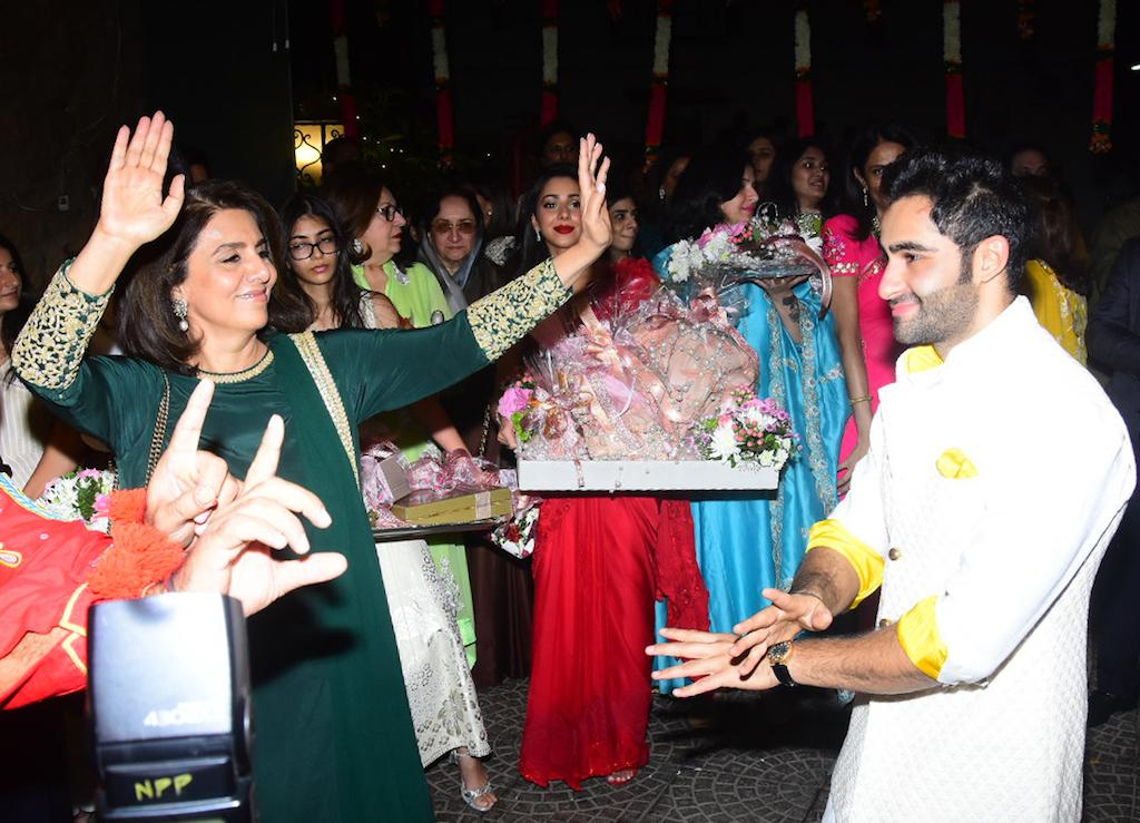 Kapoor clan at Armaan Jain's roka ceremony