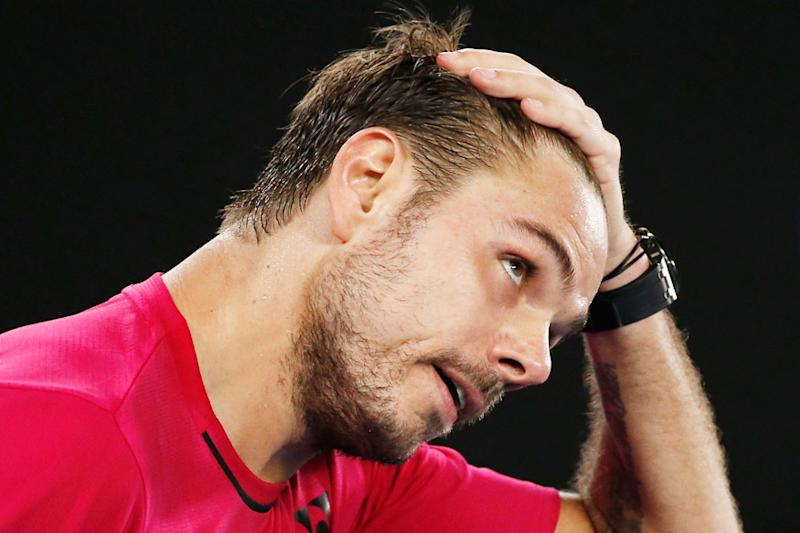 Injured Stan Wawrinka Withdraws from Basel
