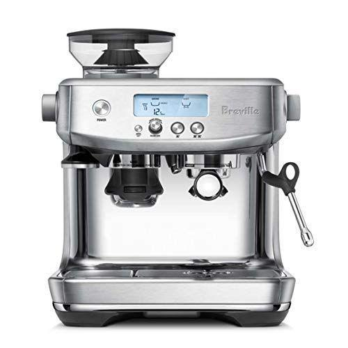 """<p><strong>Breville</strong></p><p>amazon.com</p><p><strong>$589.95</strong></p><p><a href=""""https://www.amazon.com/Breville-BES870XL-Barista-Express-Espresso/dp/B00CH9QWOU/?tag=syn-yahoo-20&ascsubtag=%5Bartid%7C2139.g.37612148%5Bsrc%7Cyahoo-us"""" rel=""""nofollow noopener"""" target=""""_blank"""" data-ylk=""""slk:BUY IT HERE"""" class=""""link rapid-noclick-resp"""">BUY IT HERE</a></p><p>If you love them as much as they love espresso, gift them this Amazon Choice espresso machine. It's an investment, no doubt, but they'll save a hell of a lot of money on lattes. And you will too, if you live in their household.</p>"""