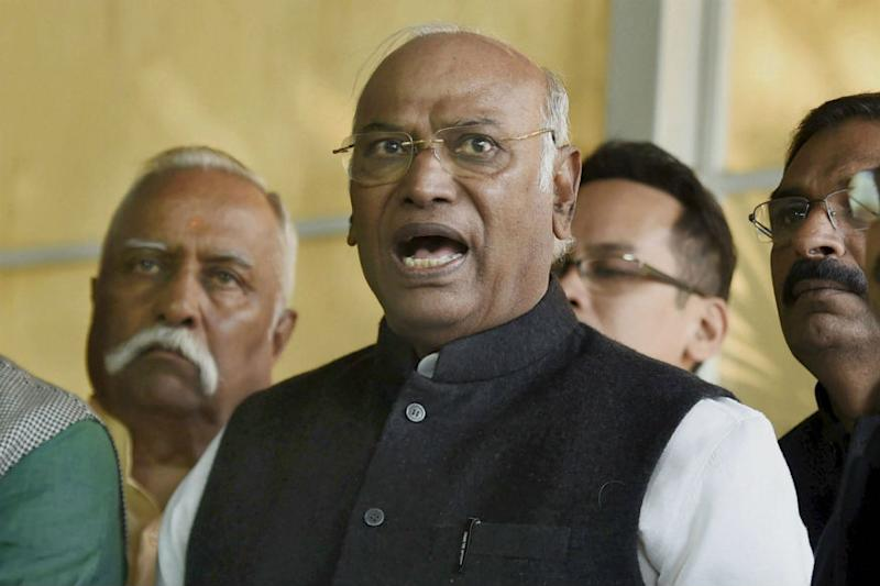 Kharge turns down Centre's invitation to attend Lokpal meeting
