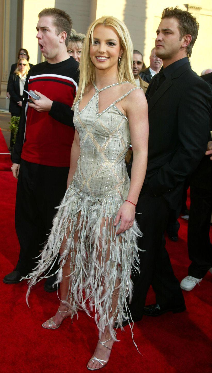 <p>At the 31st Annual American Music Awards in Los Angeles on November 16, 2003.</p>