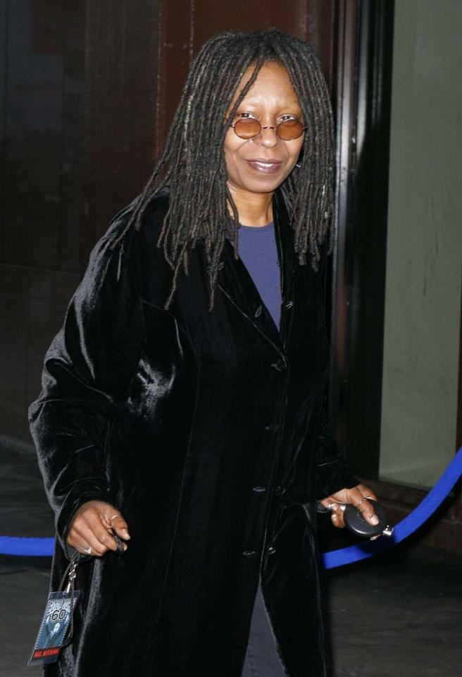 "Whoopee for Whoopi! The talented actress/comedienne officially joins ""The View"" this fall. Meanwhile, talks with Sherri Shepard have reportedly stalled over salary disputes. Edward Le Poulin/<a href=""http://www.splashnewsonline.com"" target=""new"">Splash News</a> - March 25, 2007"