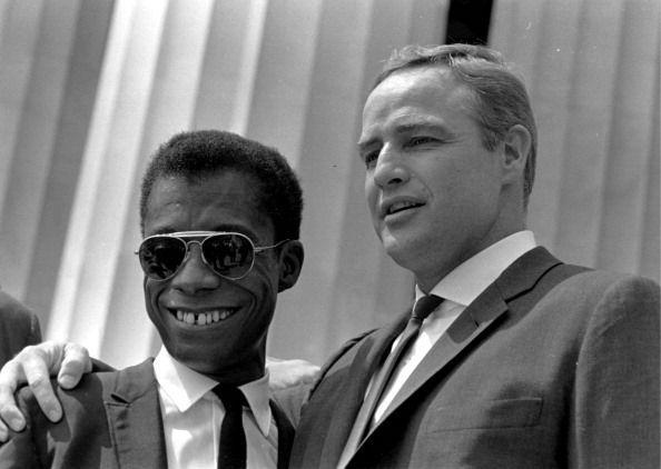 <p>Writer (and Harlem resident) James Baldwin was friends with members of the Hollywood elite, including Marlon Brando, and enlisted their support.</p>