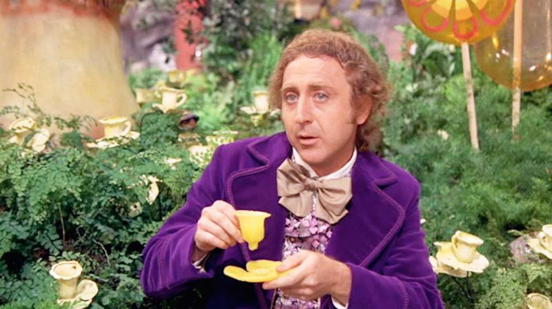 Gene Wilder as Willy Wonka in Willy Wonka and the Chocolate Factory (credit: Paramount)