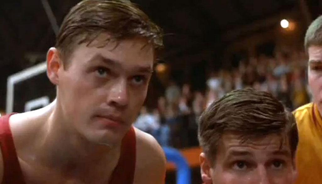 """<b>Sixth Man:</b><br>Jimmy Chitwood (Maris Valainis) in """"Hoosiers"""" (1986) -- No one in cinema shoots more lights-out than Jimmy. When we need a clutch shot, we know he'll make it."""