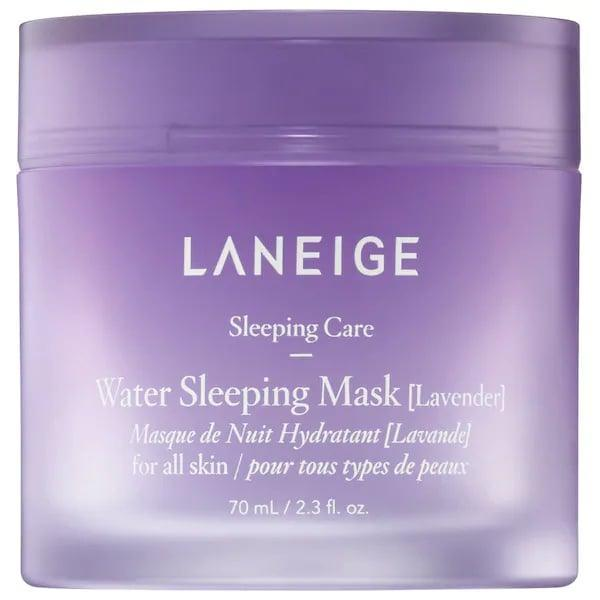 <p>Bring a love of lavender to your skin with a special-edition scent of this bestselling overnight mask. Your face gets hydrated, and this sweet treat complements your favorite bath salts and pillow spray, too.</p> <p><span>Laneige Lavender Water Sleeping Mask</span> ($25)</p>