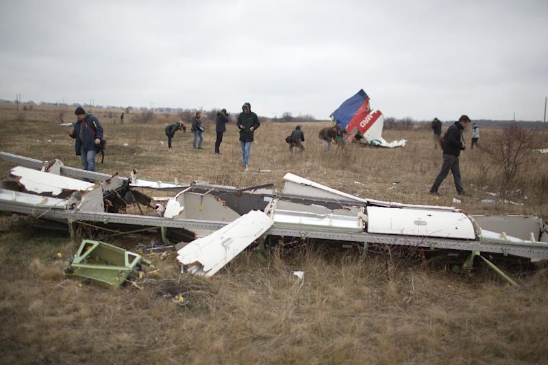 Dutch investigators say Malaysian Airlines Flight MH17 was hit by a BUK surface-to-air missile on July 17, 2014 (AFP Photo/Menahem Kahana)