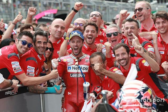 """Ganador Andrea Dovizioso, Ducati Team <span class=""""copyright"""">Gold and Goose / LAT Images</span>"""