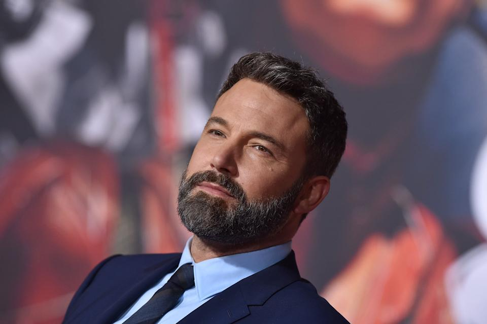 "Ben Affleck at the premiere of ""'Justice League"" at Dolby Theatre on Nov. 13, 2017, in Hollywood. (Photo: Axelle/Bauer-Griffin via Getty Images)"