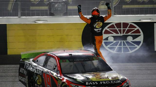 Martin Truex Jr. advanced to the round of 12 after finishing ahead of Kevin Harvick and Brad Keselowski.