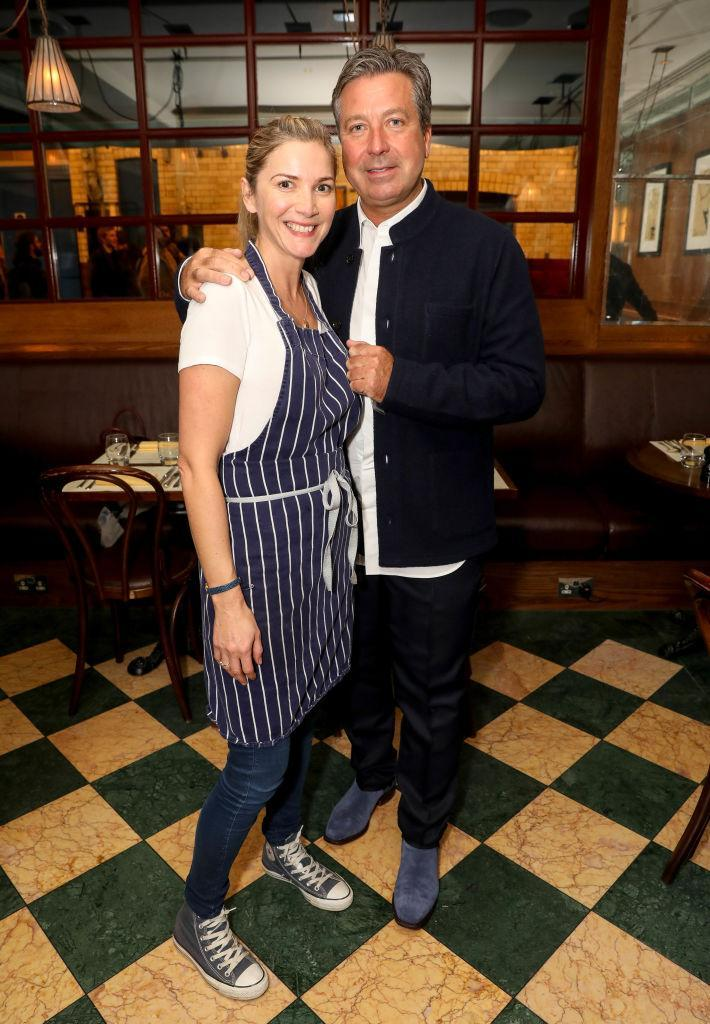 All's well that ends well: the bosses on MasterChef may have tough, but the judges turned out to be dreamy. Lisa and John got engaged this Christmas.