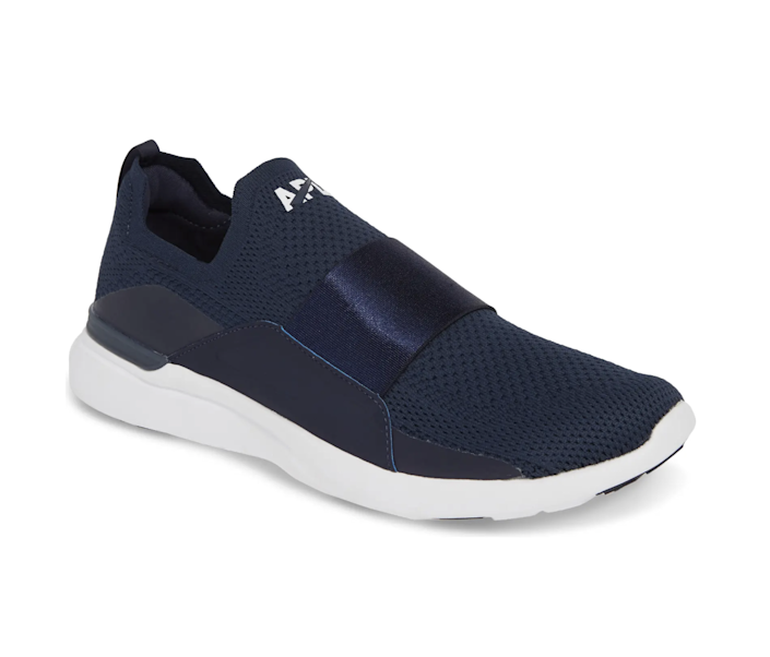 """Just some cool—and very comfy—slip-on sneakers to remind Dad of his skater days. At least he can <a href=""""https://www.glamour.com/gallery/best-running-shoes-for-women?mbid=synd_yahoo_rss"""" rel=""""nofollow noopener"""" target=""""_blank"""" data-ylk=""""slk:run"""" class=""""link rapid-noclick-resp"""">run</a> in these. $200, Zappos. <a href=""""https://www.zappos.com/a/the-style-room/product/9079465/color/141220?"""" rel=""""nofollow noopener"""" target=""""_blank"""" data-ylk=""""slk:Get it now!"""" class=""""link rapid-noclick-resp"""">Get it now!</a>"""