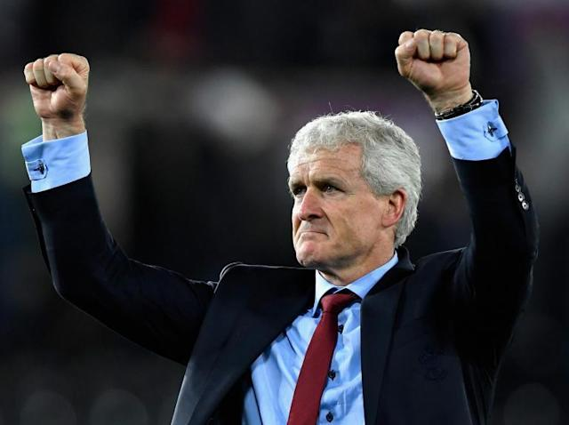 Mark Hughes says Swansea hotel cancellation helped motivate his players ahead of relegation clash