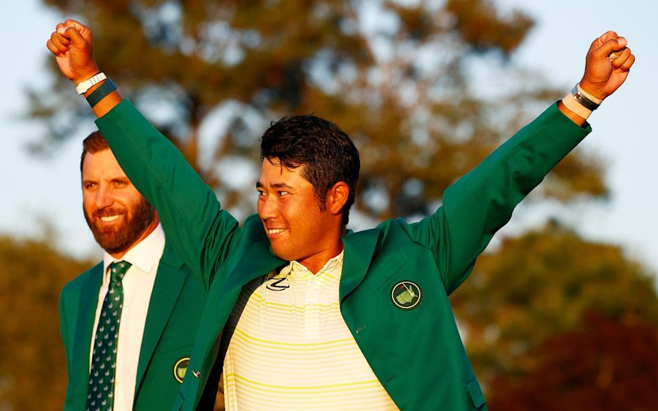 Hideki Matsuyama wins Masters to become Japan's first male major champion - Getty Images