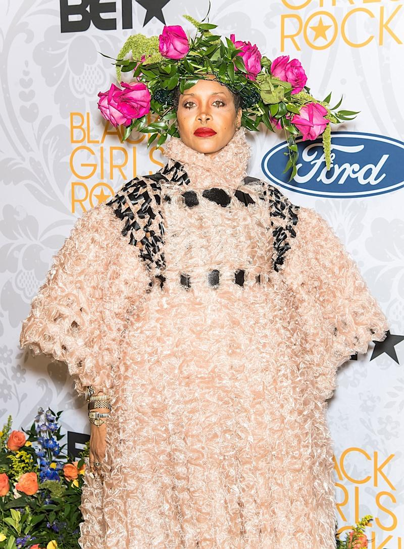 Erykah Badu Takes the Flower Crown to New Heights